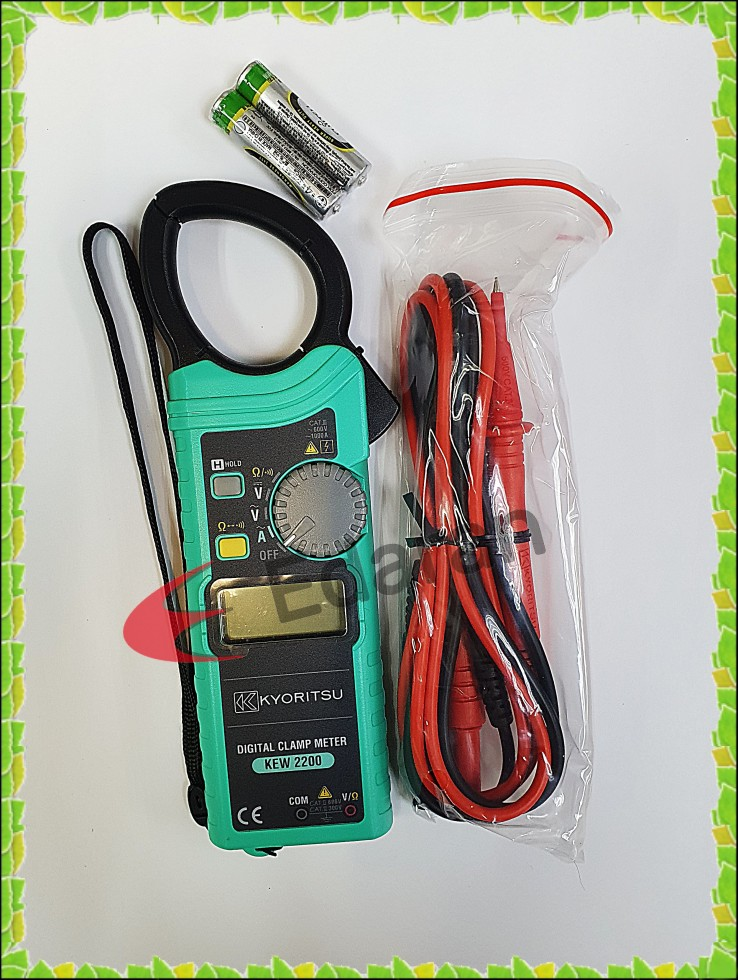 KYORITSU KEW 2200 DIGITAL CLAMP METER