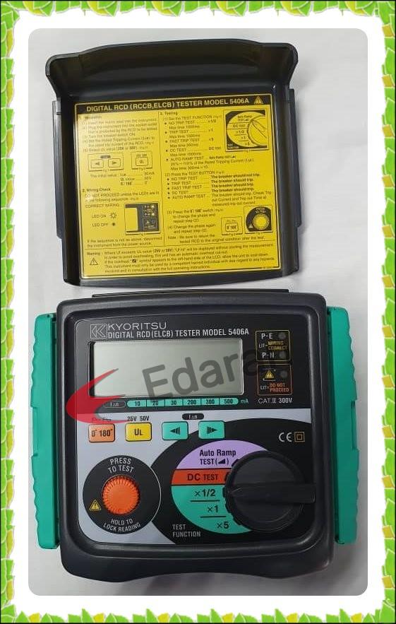 KYORITSU 5406A Digital RCD (ELCB) Tester